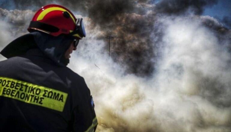 Υπό έλεγχο η φωτιά κοντά στη Μονή Χιλανδαρίου στο Άγιον Όρος