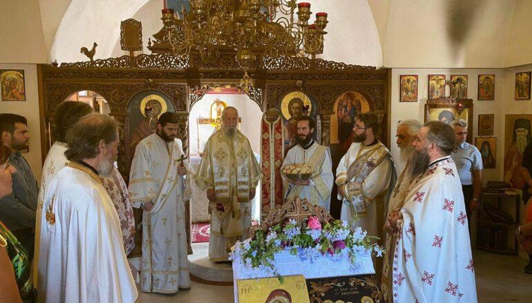 Η εορτή των επτά Παίδων Μακκαβαίων στην Ι. Μητρόπολη Καρυστίας