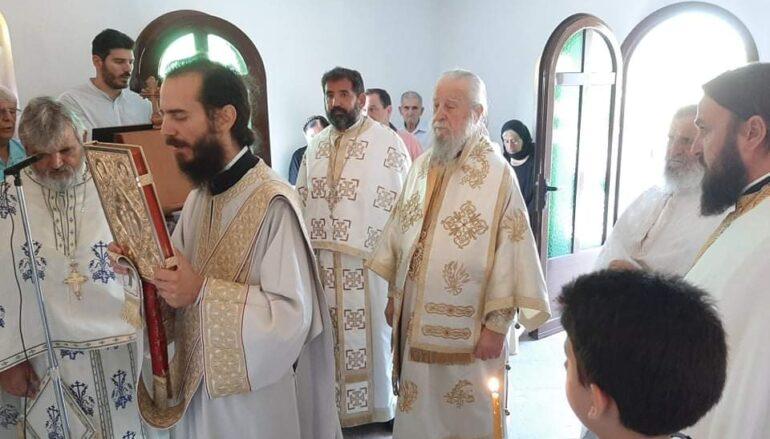 Η Εορτή Αναμνήσεως του Θαύματος Αγίου Σπυρίδωνος στην Ι. Μ. Καρυστίας