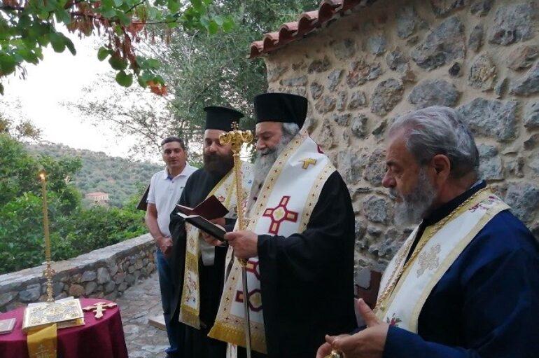 Μάνης Χρυσόστομος: «Το πρόσωπο της Παναγίας, μας γαληνεύει»