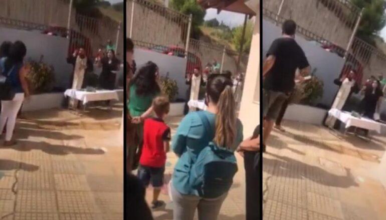 Συνελήφθη ο Ιερέας στην Κρήτη μετά το κήρυγμα για τις μάσκες