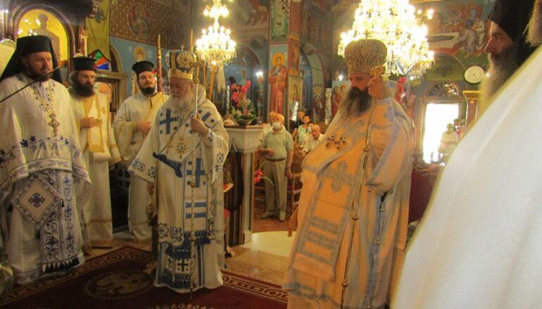 Ο εορτασμός του Γενεθλίου της Θεοτόκου στην Ι. Μ. Κορίνθου
