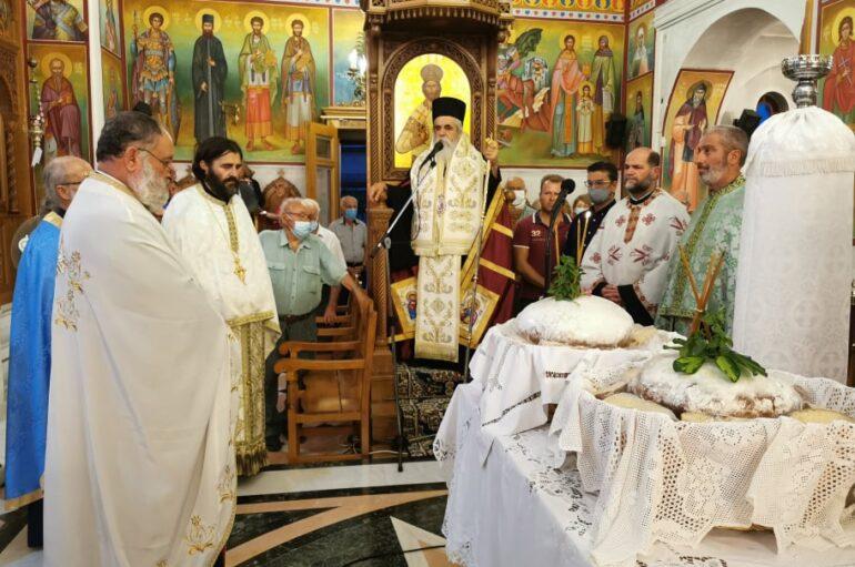 Ο Προστάτης των υιοθετημένων παιδιών εορτάστηκε στο Κάστρο Κυλλήνης