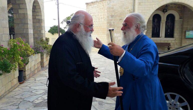 Ο Πατριάρχης Αλεξανδρείας στην Ιερά Μητρόπολη Πάφου