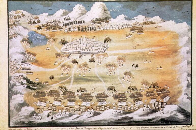 Η Άλωση της Τριπολιτσάς – 23 Σεπτεμβρίου 1821