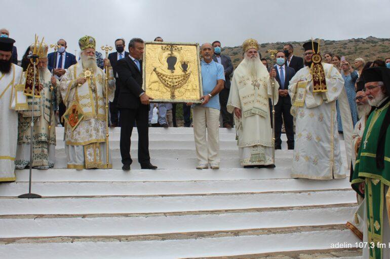 Τα Κύθηρα εόρτασαν την Παναγία Μυρτιδιώτισσα