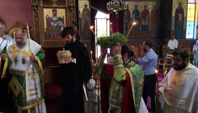 Η Ύψωσις του Τιμίου και Ζωοποιού Σταυρού στην Ι. Μ. Θεσσαλιώτιδος