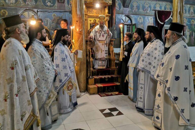 Αγρυπνία επί τη αναμνήσει του εν Κυθήροις θαύματος της Θεοτόκου στην Καρδίτσα