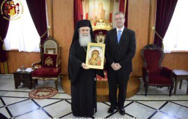 Στον Πατριάρχη Ιεροσολύμων ο νέος Γενικός Πρόξενος της Ελλάδας