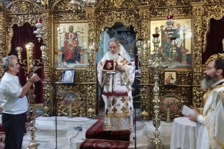 Ο εορτασμός του Αγίου Ιερομάρτυρος Αλκίσωνος στην Πρέβεζα