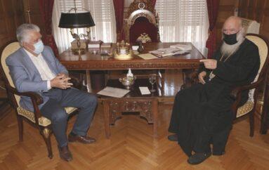 Ο Δήμαρχος Αγίας Παρασκευής στον Αρχιεπίσκοπο Ιερώνυμο