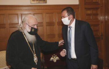 Στον Αρχιεπίσκοπο ο Κοσμήτορας της Θεολογικής Σχολής Αθηνών