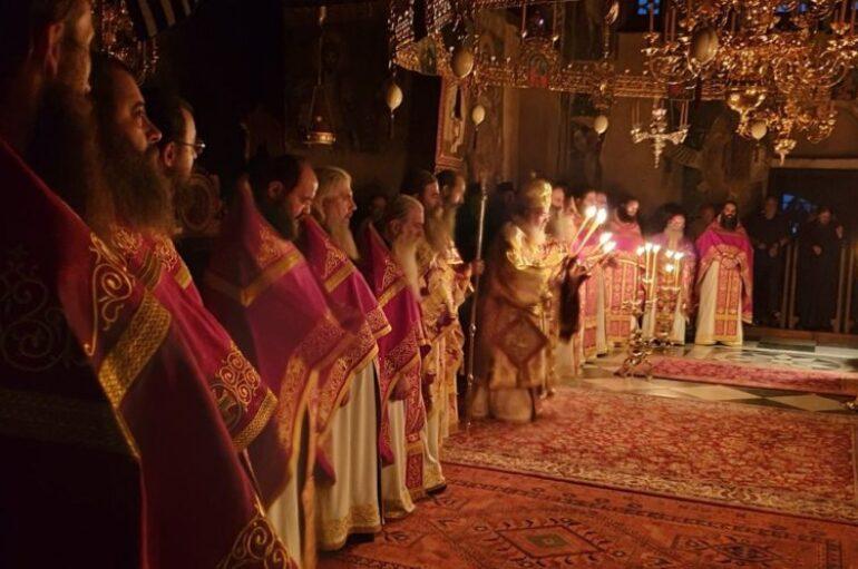 Ο εορτασμός Κοιμήσεως της Θεοτόκου στο Πρωτάτο του Αγίου Όρους