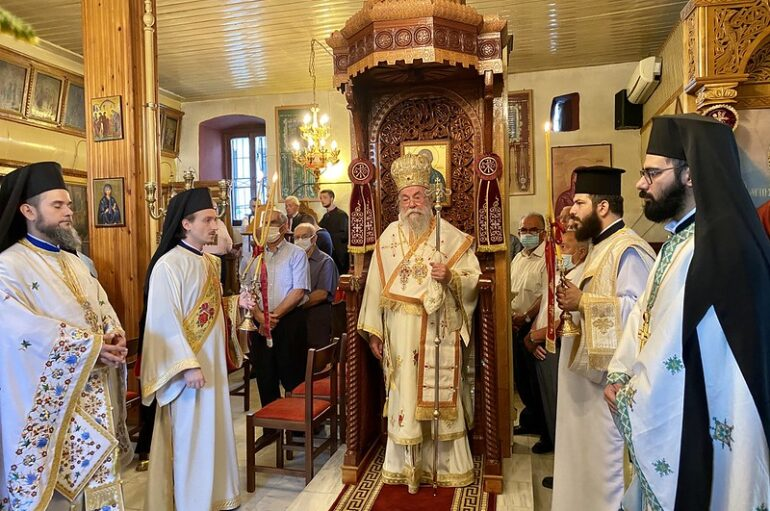 Η εορτή των Θεοπατόρων Ιωακείμ και Άννης στη Νικήσιανη Παγγαίου