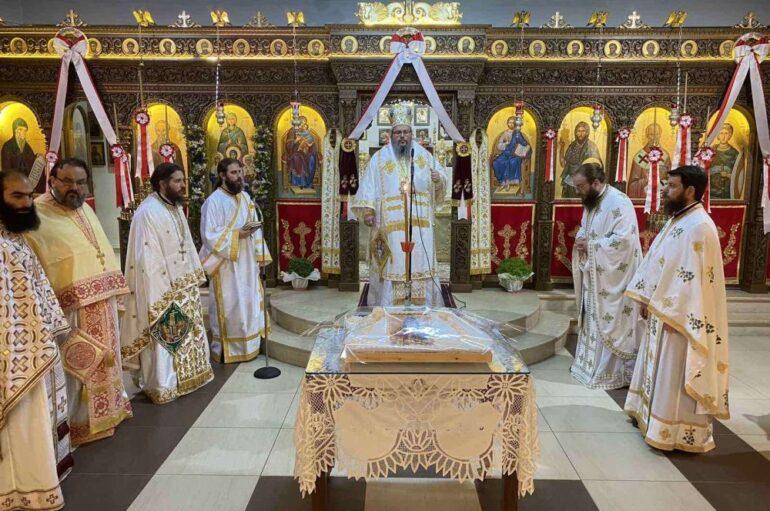 Ο εορτασμός της Αγίας Σοφίας στην Ιερά Μητρόπολη Λαρίσης