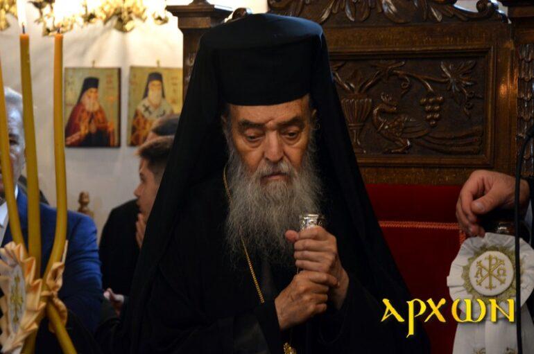 """Γόρτυνος για μάσκες: """"Εγώ είπα αυτό που είπε η Ιερά Σύνοδος της Εκκλησίας μας"""""""