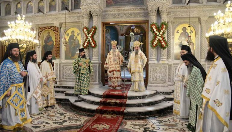 Εορτή επανακομιδής της τιμίας Κάρας του Αποστόλου Ανδρέου στην Πάτρα