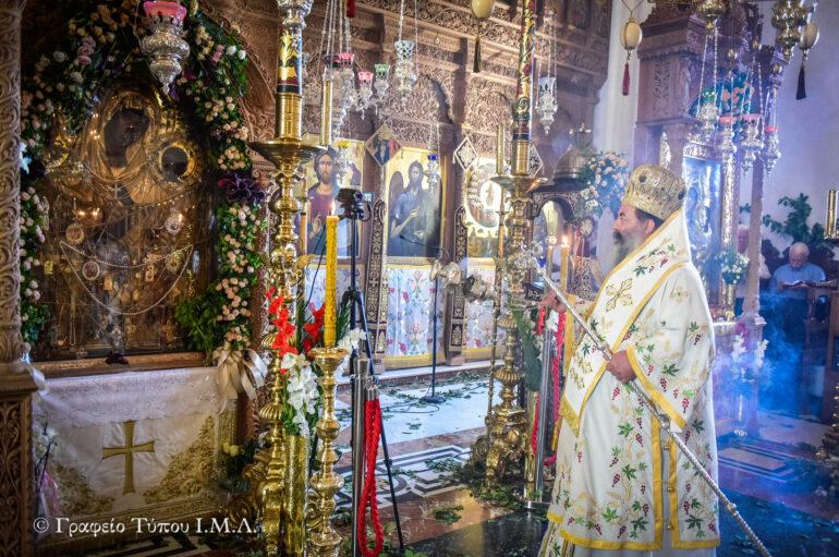 Πανηγύρισε η Ι. Μονή Παναγίας της Θεοσκεπάστου Σοχού