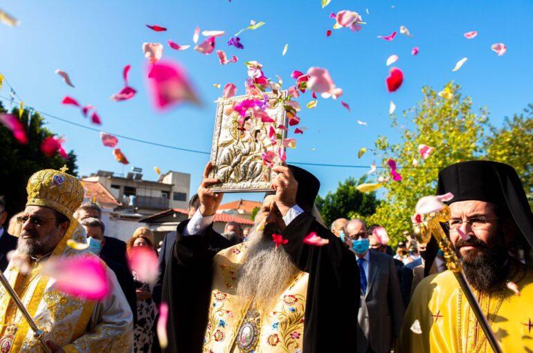 Η Μεσσήνη υποδέχθηκε την Ιερά Εικόνα της Παναγίας Βουλκανιώτισσας