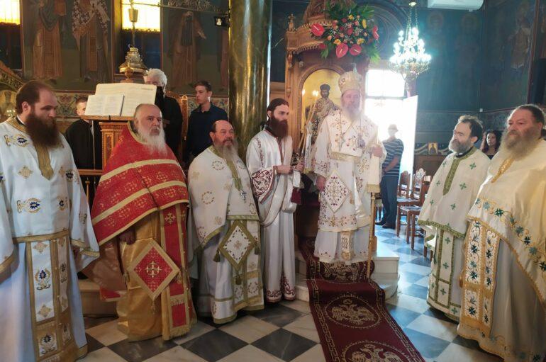 Εορτή Ανακομιδής των Ι. Λειψάνων του Αγ. Νεκταρίου στην Πάτρα