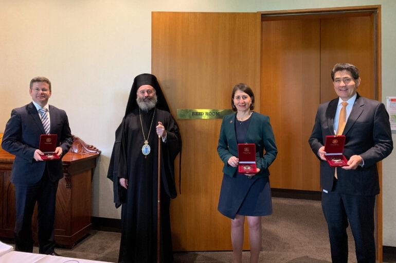 Ο Αρχιεπίσκοπος Αυστραλίας στο Κοινοβούλιο της Νέας Νοτίου Ουαλίας