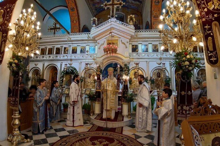 Εορτή του Αγίου Ιωάννου του Θεολόγου στην Ι. Μ. Χαλκίδος