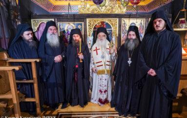 Θυρανοίξια Παρεκκλησίου και μεγαλοσχημία μοναχού στην Ι. Μ. Βεροίας