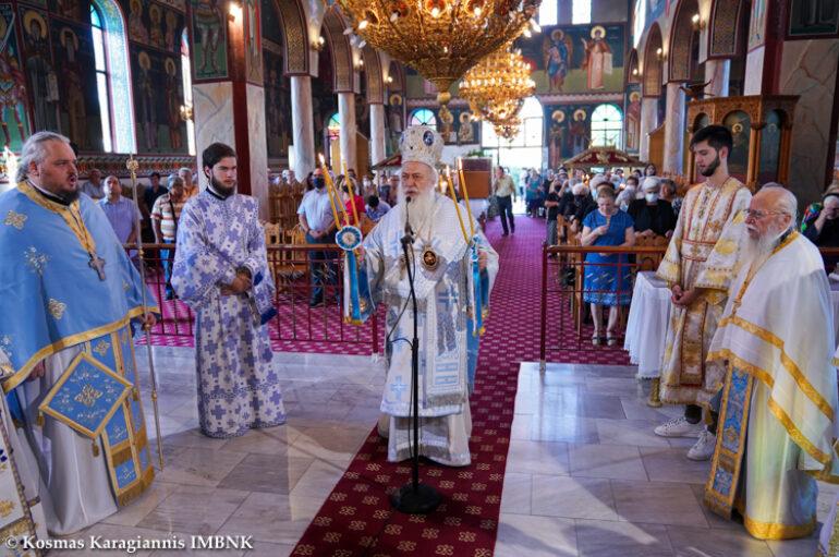 Πανηγύρισε ο Ι. Ναός Γενεσίου της Θεοτόκου στο Πλατύ Ημαθίας