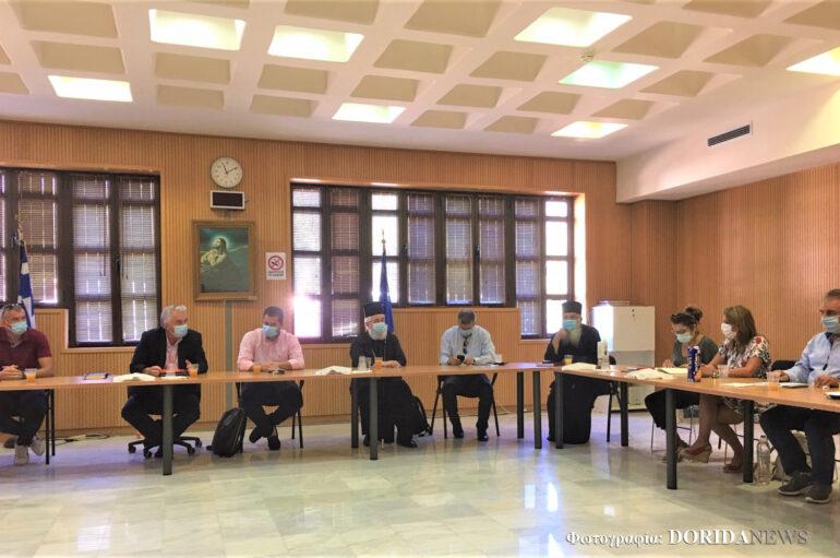 Σύσκεψη τοπικών αρχών της Φωκίδας για την Ι. Μ. Βαρνάκοβας