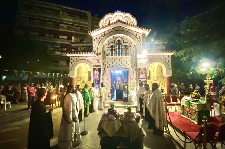 Αρχιερατικός Εσπερινός για τον Άγιο Βησσαρίωνα στην Λάρισα