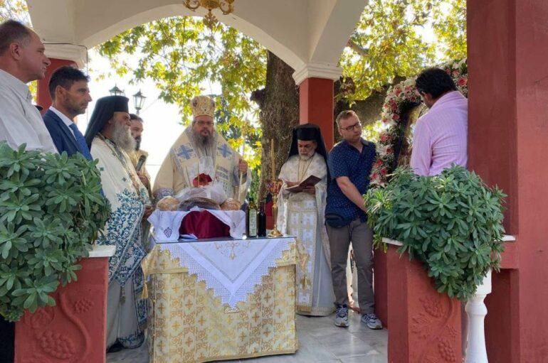 Ο εορτασμός του Γενεθλίου της Θεοτόκου στην Ι. Μ. Λαρίσης