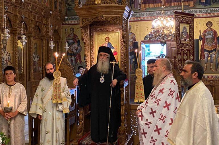 Εορτή Ανακομιδής Λειψάνων Αγίου Νεκταρίου στην Καστοριά