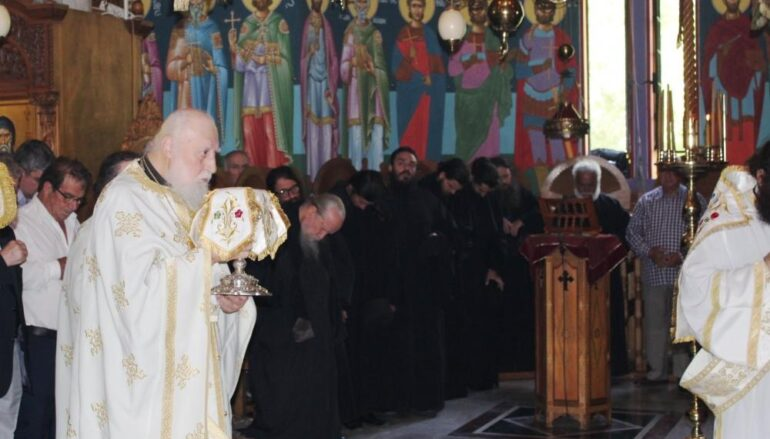 Εκοιμήθη ο Προηγούμενος της Ι. Μονής Παρακλήτου Αρχιμ. Τιμόθεος