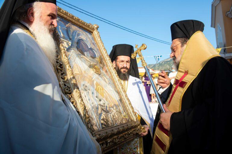 Την Εικόνα της Παναγίας Δημιοβίτισσας υποδέχθηκε η Καλαμάτα