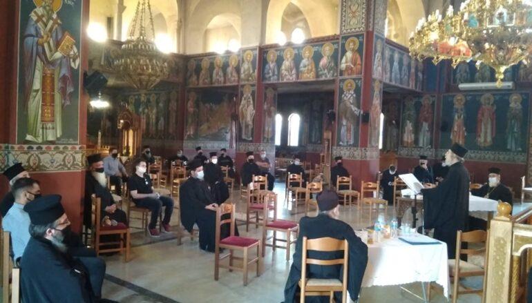 Σύναξη Ιερέων Νεότητος στην Ι. Μ. Πρεβέζης