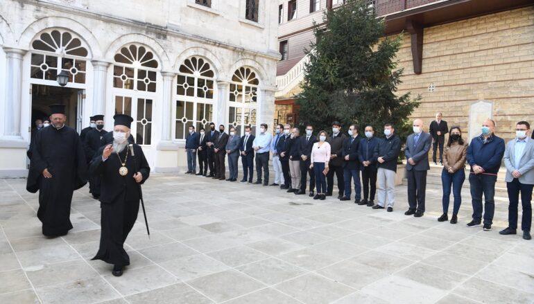 Αναχώρησε ο Οικουμενικός Πατριάρχης για την Ρώμη