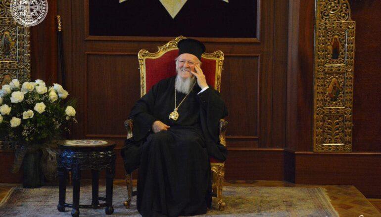 29 χρόνια από την εκλογή του Οικ. Πατριάρχη Βαρθολομαίου