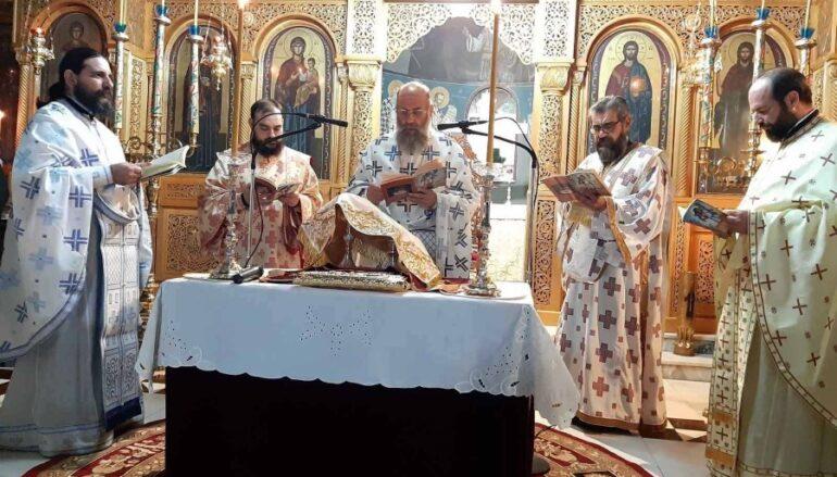 Αρχιερατική Θ. Λειτουργία του Αγίου Ιακώβου του Αδελφοθέου στην Καρδίτσα