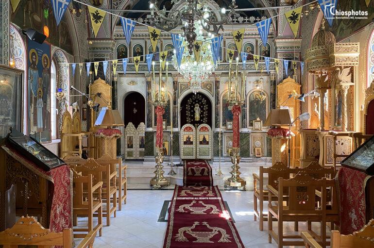 Ο προσφυγικός Ναός της Αγίας Παρασκευής Καστέλλου στη Χίο