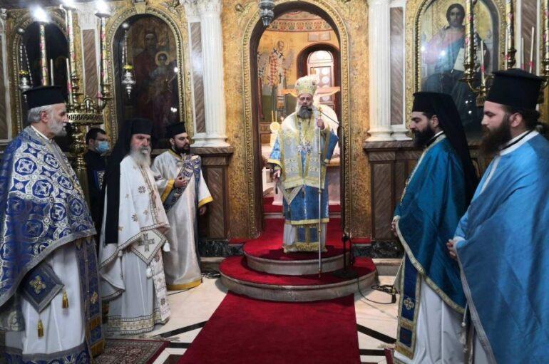 Εορτή της Αγίας Σκέπης και της Εθνικής Επετείου στην Καρδίτσα