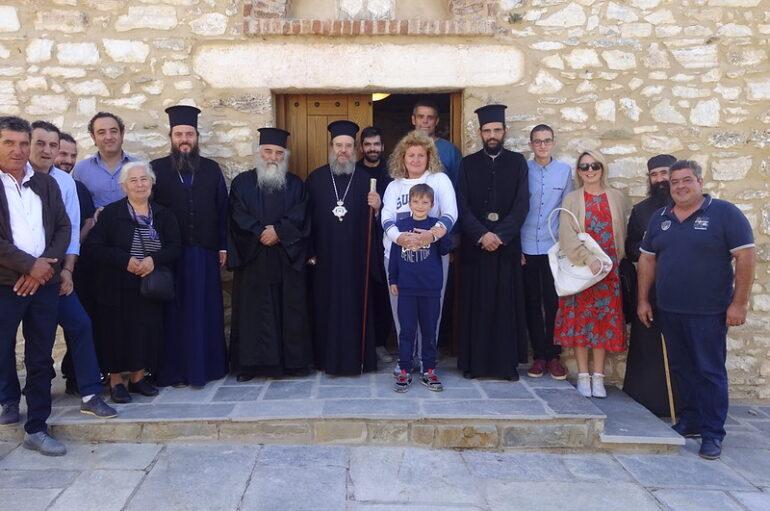 Η εορτή του Αγίου Ευθυμίου του Νέου στην Περιστερά Θεσσαλονίκης