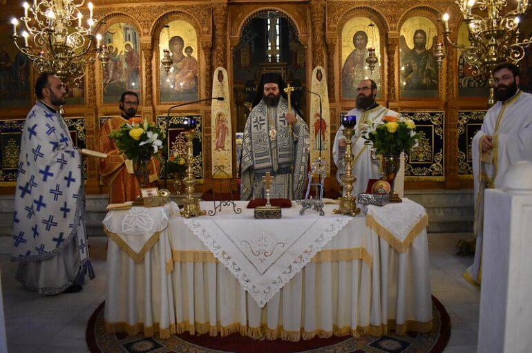 Ο εορτασμός του Αγίου Ιακώβου του Αδελφοθέου στην Ι. Μ. Μαρωνείας