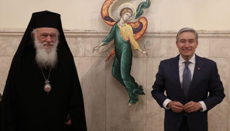 Ο Υπουργός Εξωτερικών του Καναδά στον Αρχιεπίσκοπο Ιερώνυμο