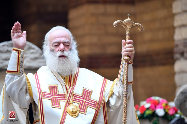 Η Θ. Λειτουργία του Αγίου Μάρκου στους τάφους των Αγίων Γαβριήλ και Κυρμιδώλη