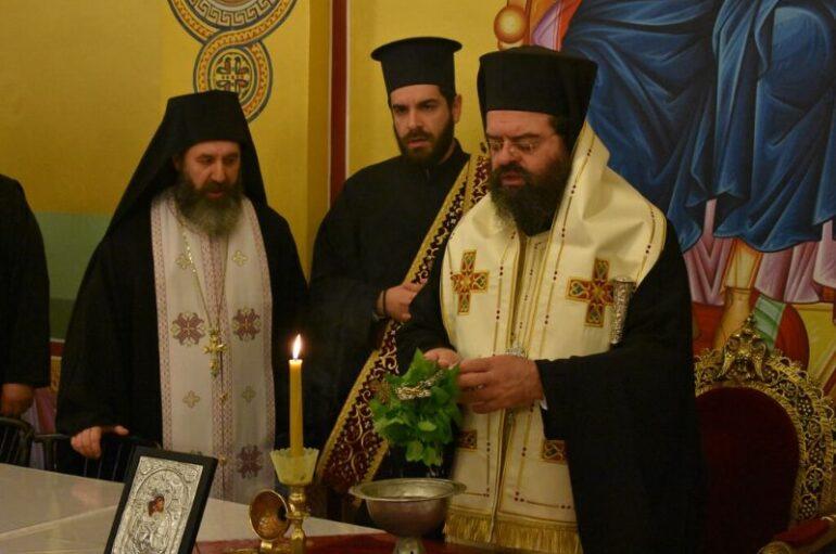 Αγιασμός στη Σχολή Βυζαντινής Μουσικής της Ι. Μ. Μαρωνείας