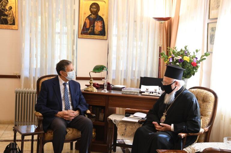 Συνάντηση του Οικ. Πατριάρχη με υψηλόβαθμο στέλεχος της UNESCO