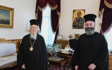 Ο Αρχιεπίσκοπος Αυστραλίας στον Οικ. Πατριάρχη