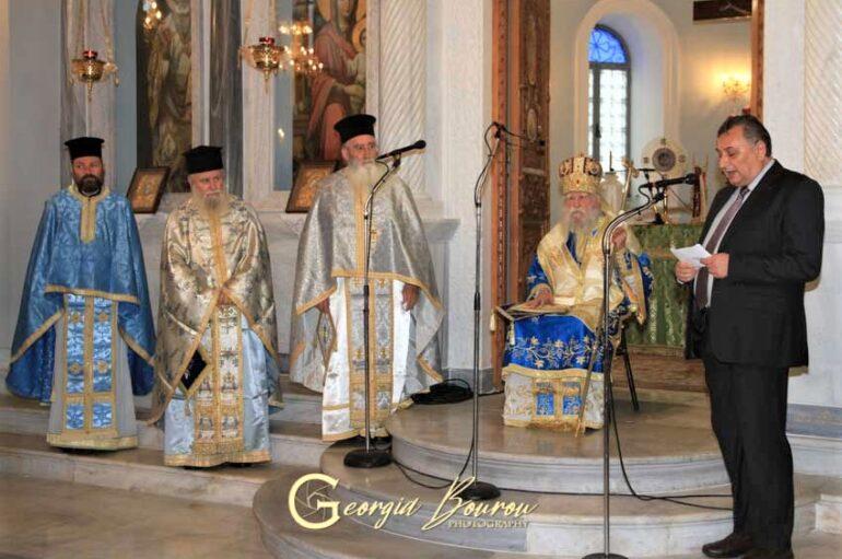 Η εορτή της Αγίας Σκέπης στην Ι. Μητρόπολη Ηλείας