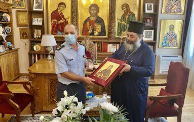 Στον Μητροπολίτη Λαγκαδά ο Γενικός Επιθεωρητής Αστυνομίας Βορείου Ελλάδας