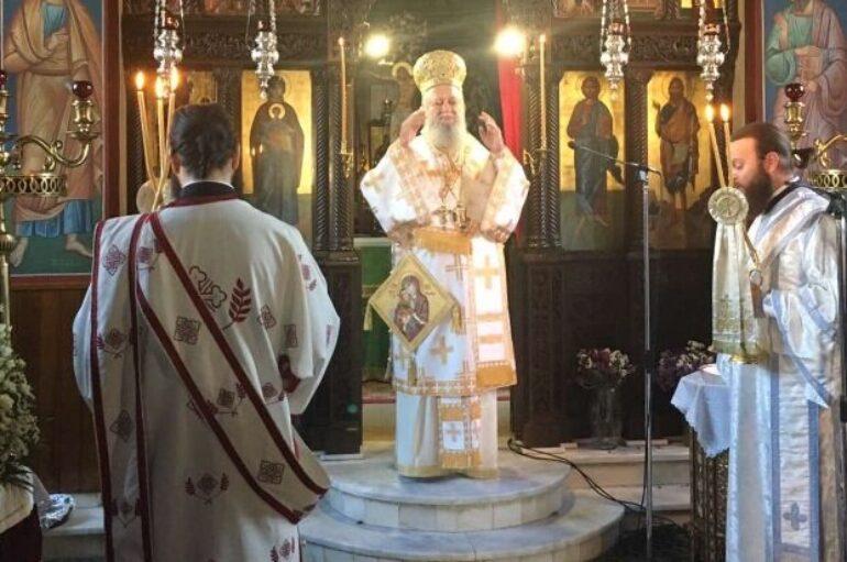 Πανηγύρισε η Ιερά Μονή Παναγίας Γοργοεπηκόου Ψαχνών Ευβοίας